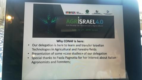 AgrIsrael 4.0: sbirciando al futuro dell'agricoltura